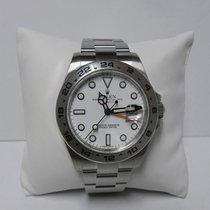 Rolex Explorer ll 216570 white dial stainless steel