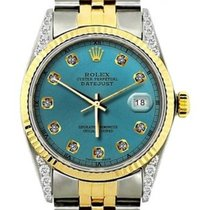 Rolex Datejust Gold/Steel 36mm Blue United States of America, New York, NewYork