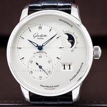 Glashütte Original 90-02-42-32-05 Panomatic Lunar SS / Leather...