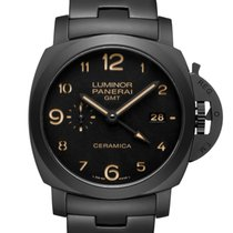 Panerai TUTTONERO - Luminor 1950 3 Days GMT Automatic Ceramica