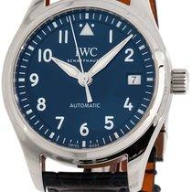 IWC Pilot's Watch Automatic 36 Stahl 36mm Blau Deutschland, Baden Baden
