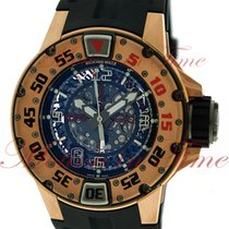 Richard Mille RM 028 Rose gold 47mm Transparent