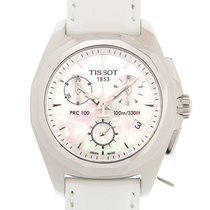 Tissot PRC 100 Staal 33mm Wit