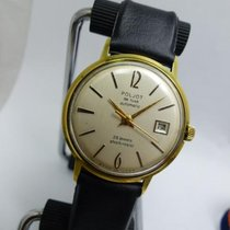 Poljot 35mm Automatic 1963 pre-owned Champagne