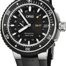 Oris ProDiver GMT 01 748 7748 7154-07 4 26 74TEB ORIS DIVING PRODIVER GMT Nero new