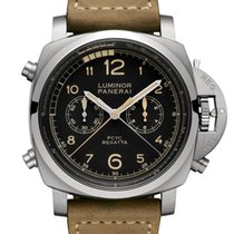 Panerai Luminor 1950 Regatta 3 Days Chrono Flyback new 2018 Automatic Watch with original box and original papers PAM00652