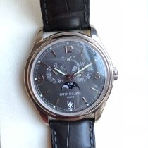 Patek Philippe Annual Calendar occasion 39mm Or blanc