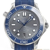 Omega Seamaster Diver 300 M Staal 42mm Grijs Geen cijfers