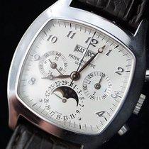 Patek Philippe Perpetual Calendar Chronograph begagnad Vitguld