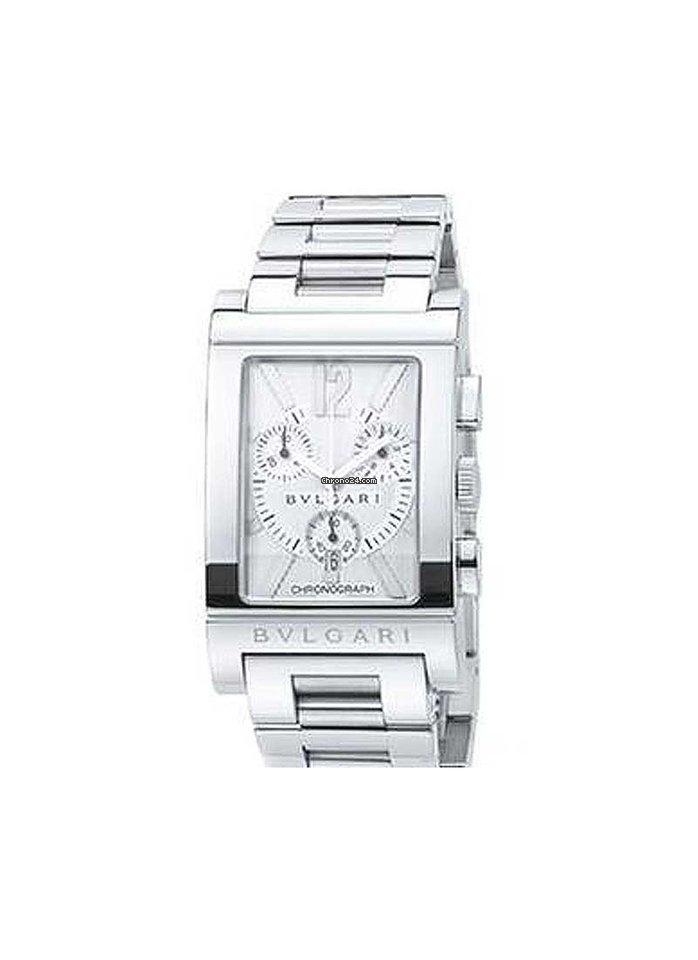 13c72edb6aa Bulgari Rettangolo - Todos os preços de relógios Bulgari Rettangolo na  Chrono24