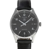 TAG Heuer Carrera Calibre 5 Steel 38mm Black United States of America, Maryland, Baltimore, MD