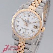 Rolex Lady-Datejust Gold/Stahl 31mm Weiß Römisch Deutschland, Moers