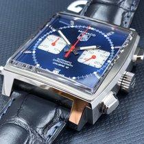 TAG Heuer Monaco Calibre 12 Steel 39mm Blue No numerals United States of America, Pennsylvania, Philadelphia