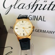 Glashütte Original Gelbgold 36mm Handaufzug 017575 gebraucht Österreich, Kufstein