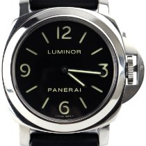 Panerai Luminor Base Steel 44mm Black Arabic numerals United Kingdom, London