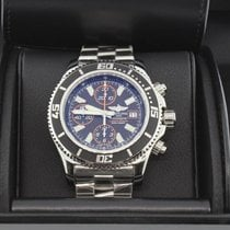 Breitling Superocean Chronograph II Steel 44mm Black No numerals United States of America, New York, Massapequa Park