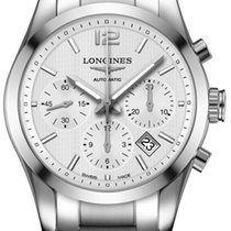 Longines Conquest Classic Steel 41mm Silver United States of America, California, Moorpark