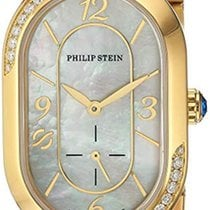 Philip Stein Gold/Steel 38mm Quartz 74SDGP-FGMOP-MSSGP new