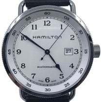Hamilton Steel 43mm Automatic Khaki Navy Pioneer pre-owned United States of America, Florida, Naples