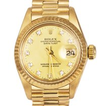 Rolex Lady-Datejust 6917 Good Yellow gold 26mm Automatic United Kingdom, London