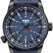 Traser Steel 46mm Quartz 109034 new