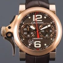 Graham Chronofighter R.A.C. Red gold Brown