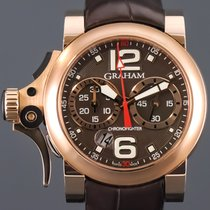 Graham Chronofighter R.A.C. new 2010 Automatic Chronograph Watch with original box and original papers 2TRAR