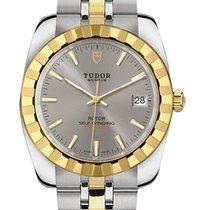 Tudor Gold/Steel 38mm 21013-0001 new
