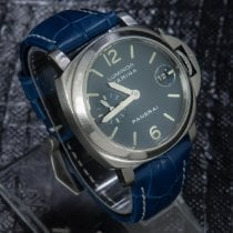 Panerai Luminor Marina Automatic Acier 40mm Bleu Arabes
