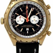 Breitling Chrono-Matic (submodel) Rose gold 44mm Black