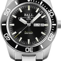 Ball Engineer Master II Skindiver Steel 42mm Black No numerals