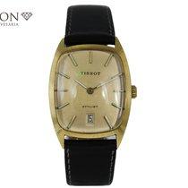 Tissot Stylist Gelbgold 19mm