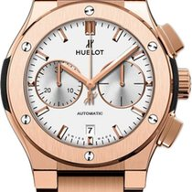 Hublot Rose gold Automatic Blue 45mm new Classic Fusion Chronograph