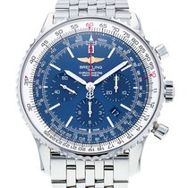 Breitling Navitimer 01 (46 MM) pre-owned 46mm Blue Chronograph Date Steel