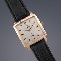 Omega 18ct Pink gold manual watch