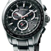 Seiko Astron Solar GPS Dual-Time Titanium Men's Watch SSE041
