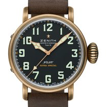 Zenith Pilot Type 20 Extra Special 29.2430.679/21.C753 Unworn Bronze 45mm Automatic United Kingdom
