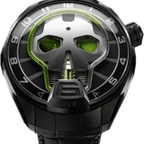 HYT Men's  151-TD-41-GF-AB SKULL GREEN EYE L.E