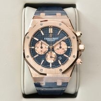 Audemars Piguet Royal Oak Chronograph 41mm Blue Dial 2018