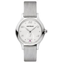Montblanc Princess Grace De Monaco Steel 34mm White