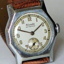 Nivada Handaufzug, verchromt, von ca. 1935 Swiss made