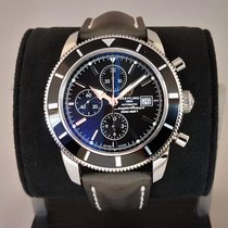 Breitling Superocean Héritage Chronograph Steel 46mm Black No numerals