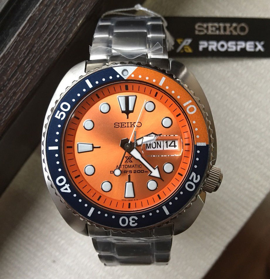 Seiko Limited Edition Nemo Orange Turtle Srpc95k1 For R 7555 Srpb01 Sale From A Seller On Chrono24