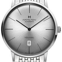 Hamilton Intra-Matic Steel 42mm Silver