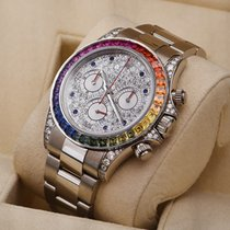 Rolex 116599RBOW White gold 2013 Daytona pre-owned