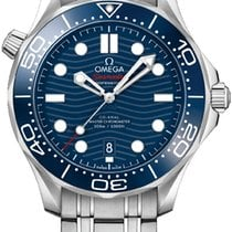 Omega Seamaster Diver 300 M Steel 42mm Blue United States of America, New York, Airmont