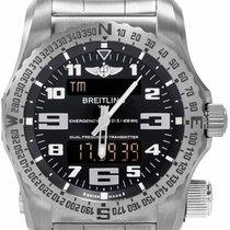 Breitling Emergency new 2019 Quartz Chronograph Watch with original box and original papers E7632522/BC02/159E