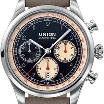 Union Glashütte 44mm Automatisk D009.427.16.052.00 ny