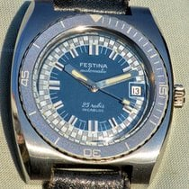 Festina Steel 43mm Automatic pre-owned