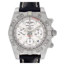 Breitling Ab0140 Staal 2000 Chronomat 40mm tweedehands